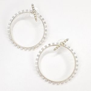 KENDRA SCOTT Charlie Grace Hoop Earrings Gold